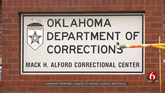 Oklahoma Bill Would Ban Minors From Being Sentenced To Life Without Parole