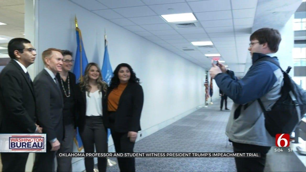 Oklahoma Teacher, Students Make Impeachment Trial Their Classroom