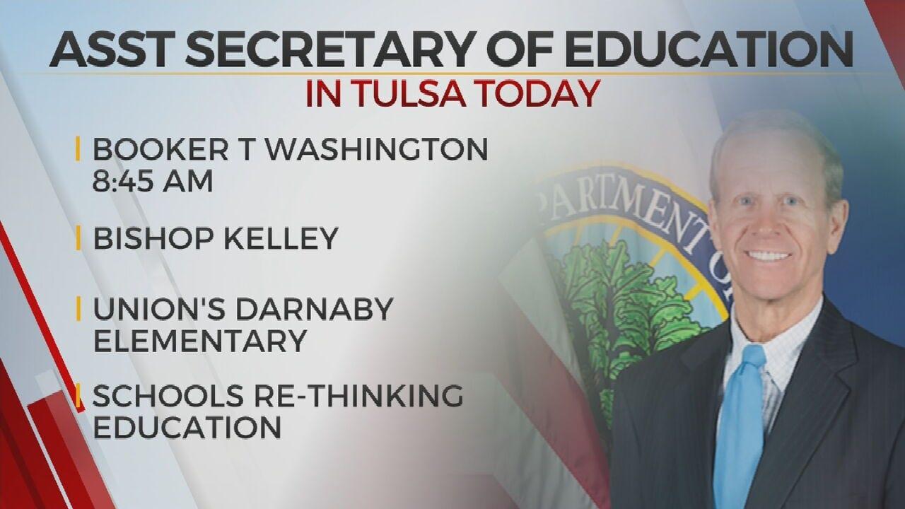 U.S. Assistant SecretaryOf Education To Tour Multiple Tulsa Area Schools