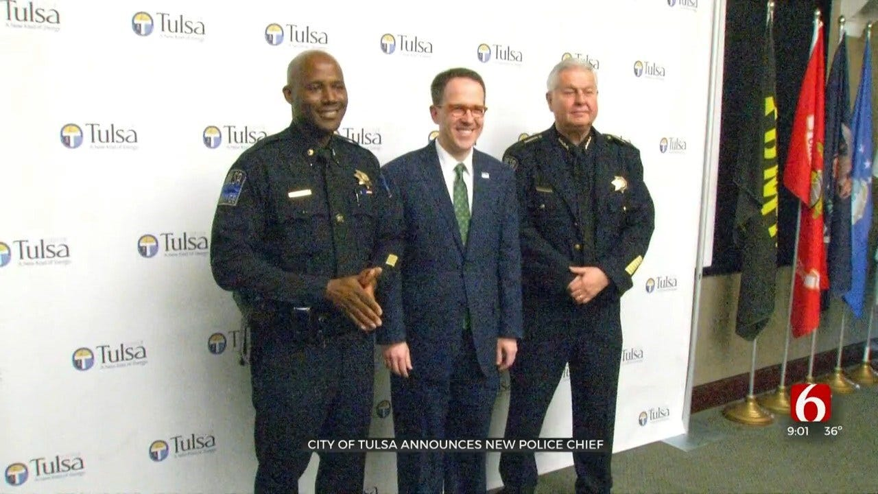 Tulsa Mayor Names Major Wendell Franklin As Next Police Chief