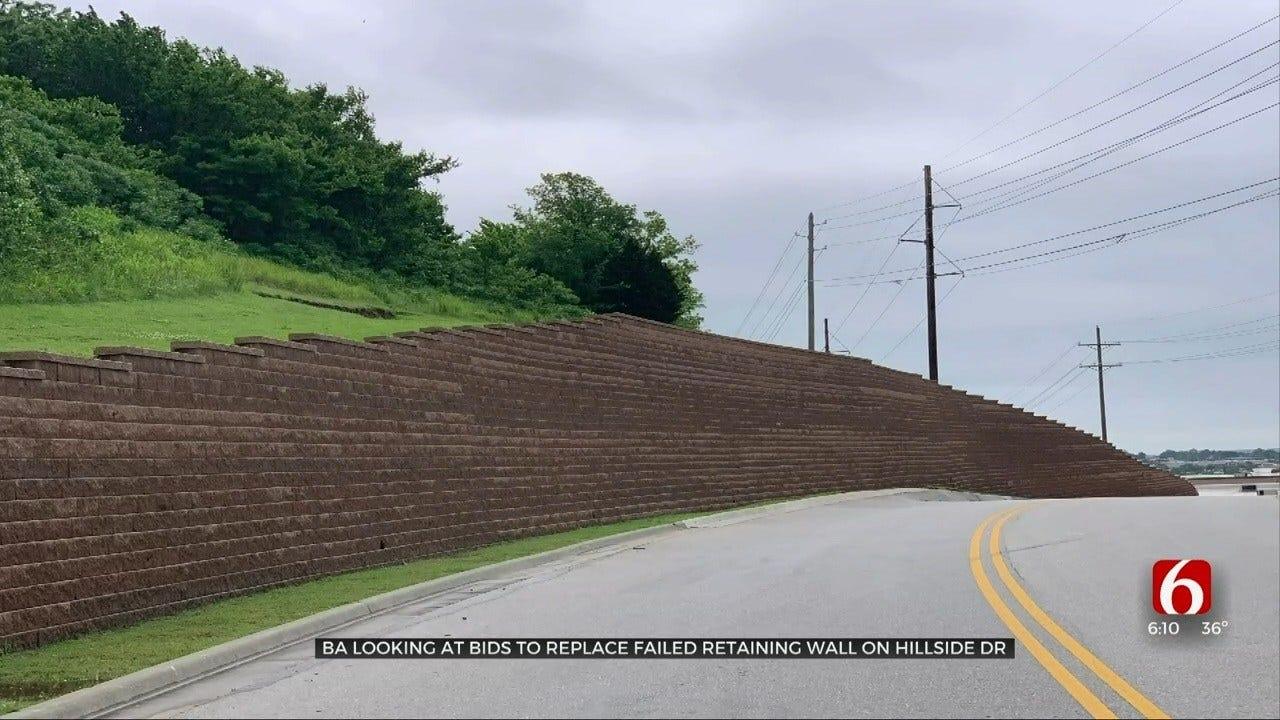Pricey Repair: Bids To Fix Broken Arrow's Hillside Drive Top $2 Million
