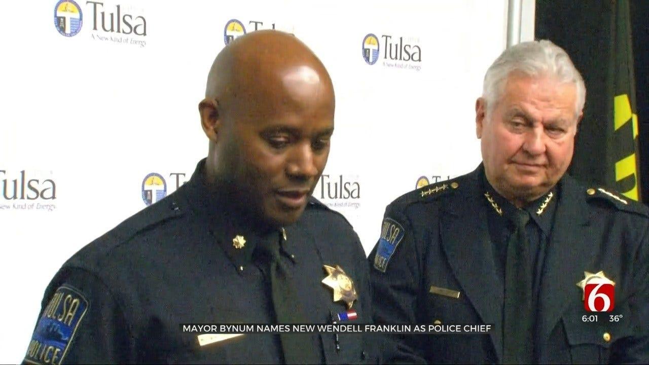 Mayor Bynum Announces New Tulsa Police Chief, Major Wendell Franklin