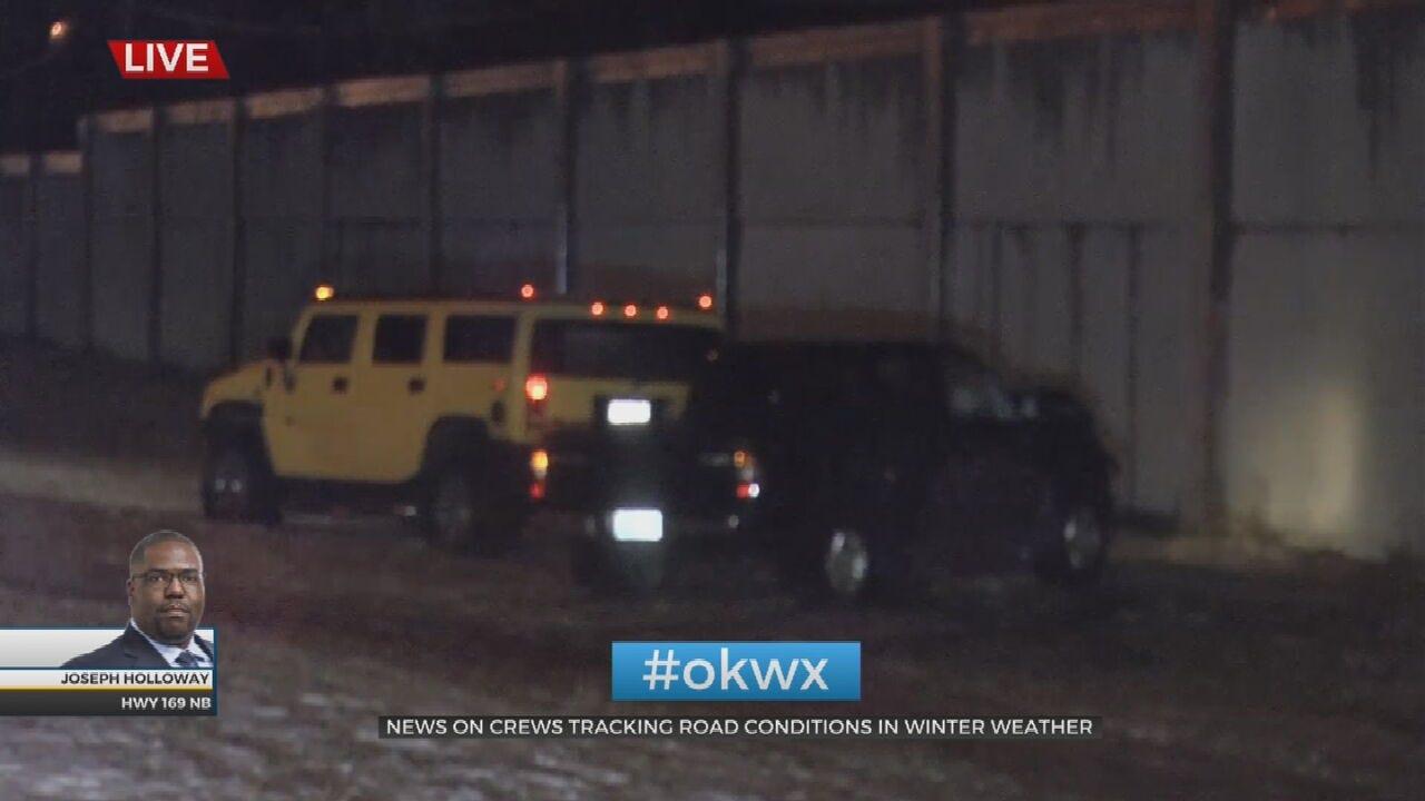 WATCH: Crash On 169 Northbound Near 31st Street