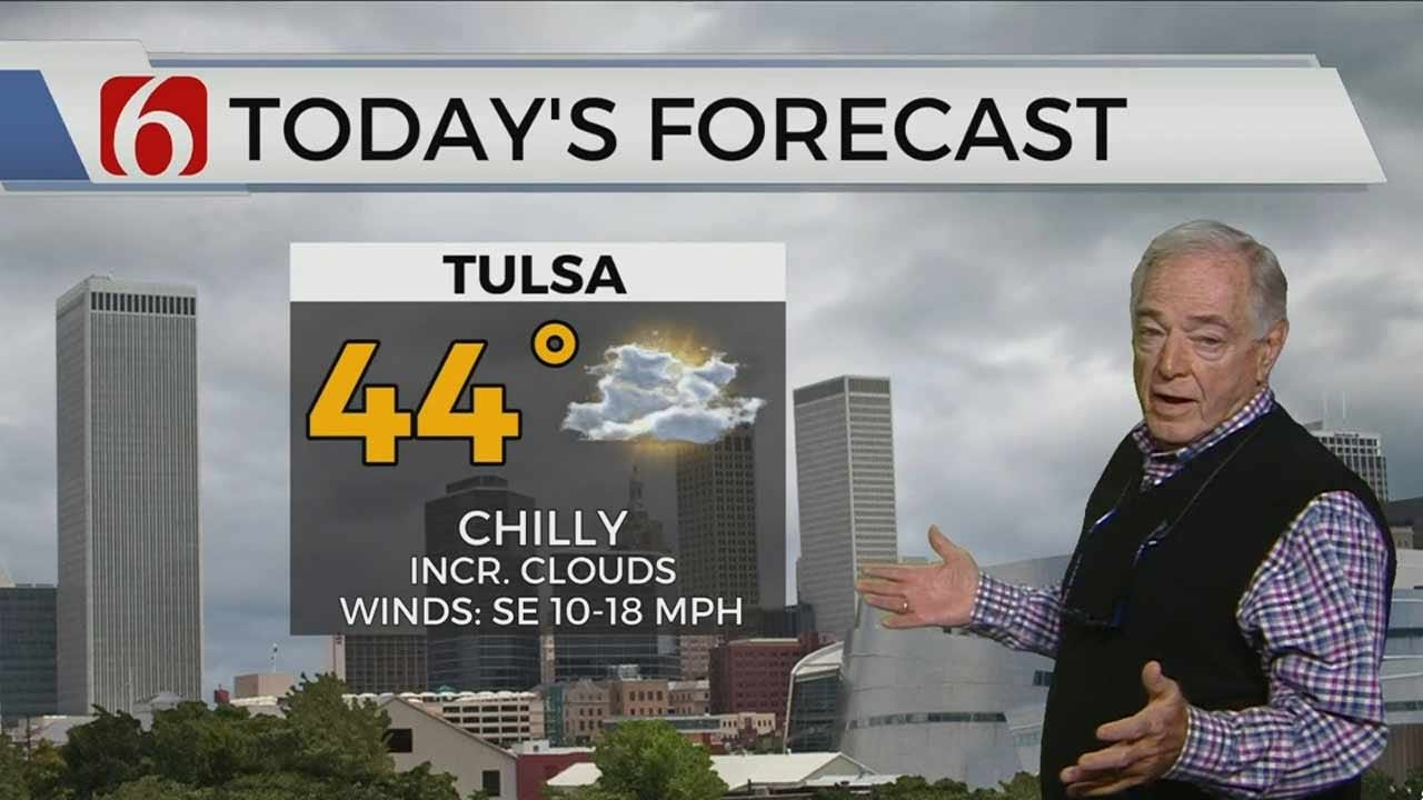 Tuesday Forecast With Rick Wells