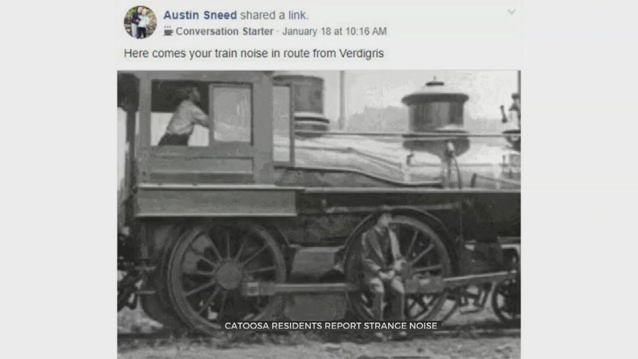 Catoosa Residents Report Hearing Strange Noise