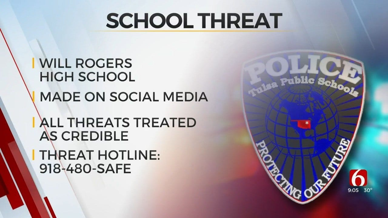 Campus Police Investigating Possible Threat Made Towards Will Rogers Schools