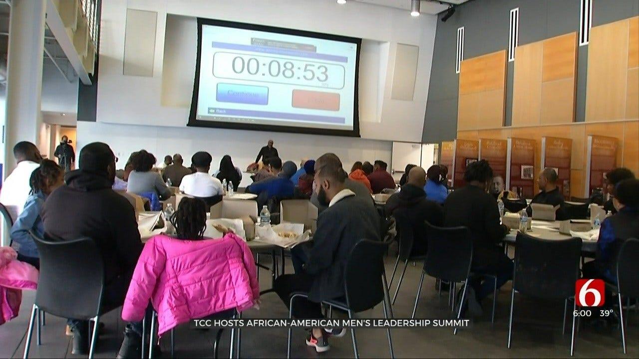 TCC Holds African-American Men's Leadership Summit On MLK Day