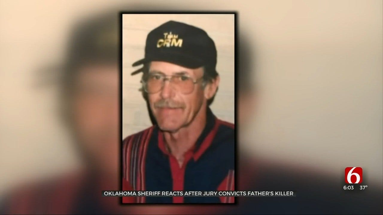 Sequoyah County Sheriff 'Relieved' About Murder Conviction of Father's Killer