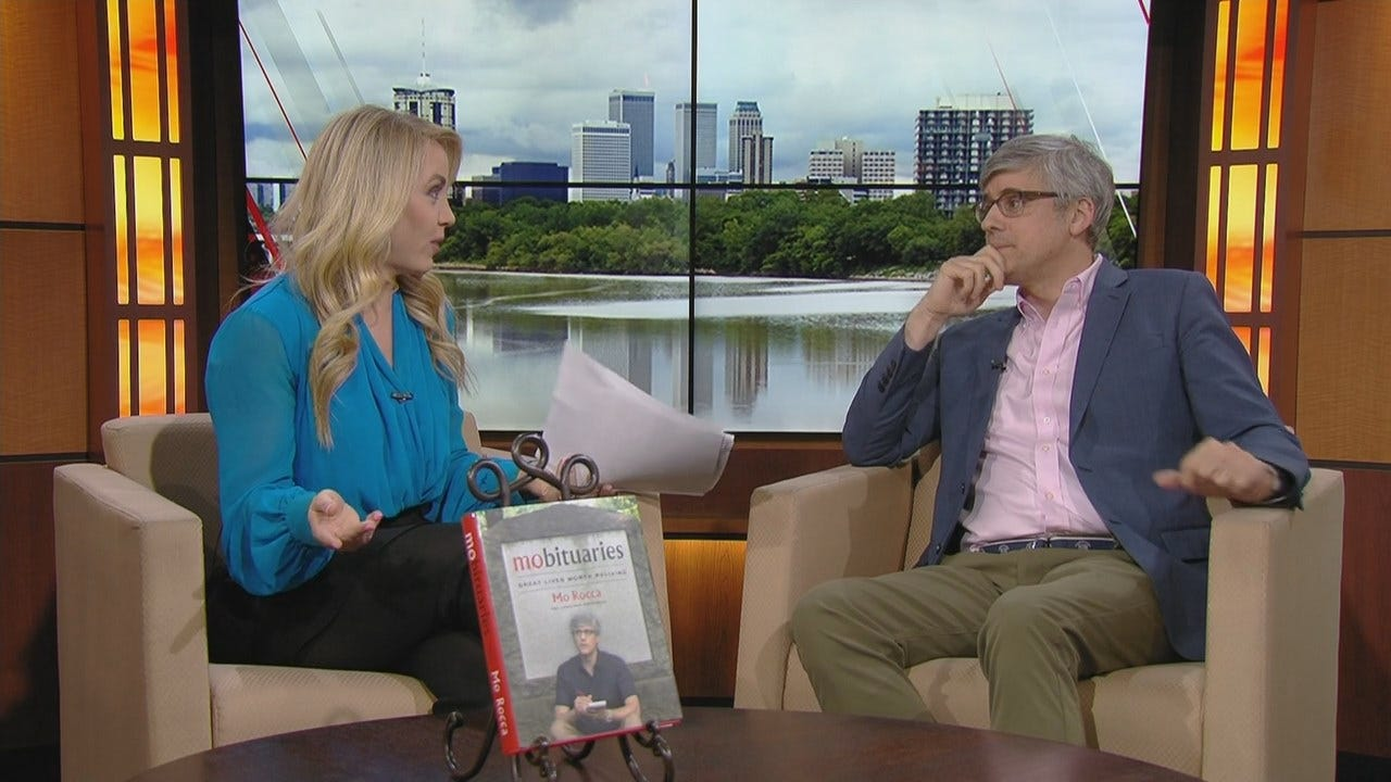 Mo Rocca Promotes New Book In Tulsa