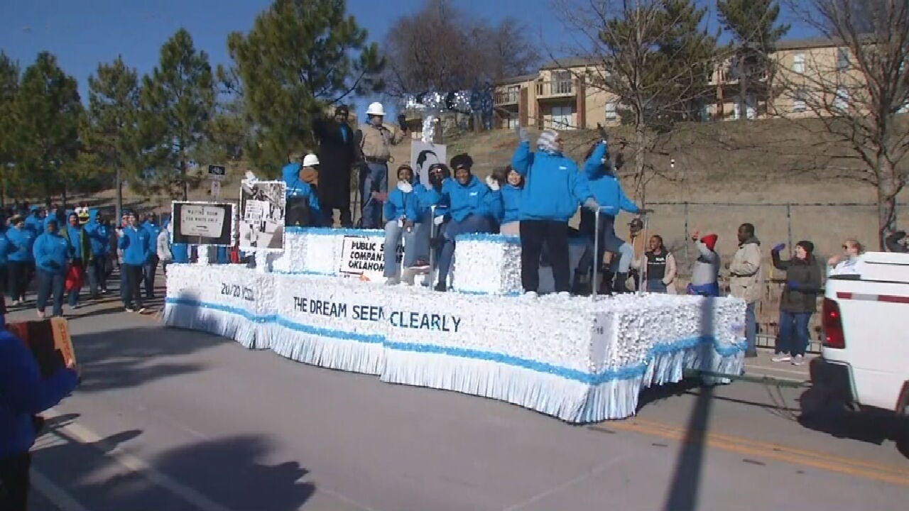 Thousands Turn Out For Tulsa's 41st Annual MLK Parade