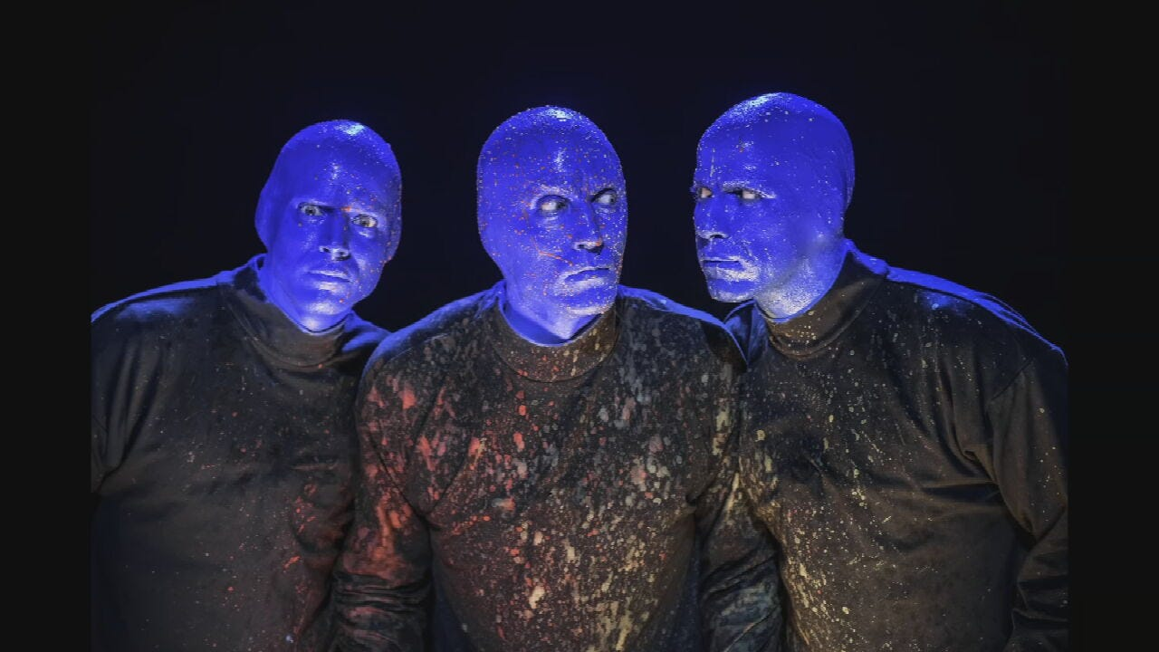 Blue Man Group Comes To Tulsa