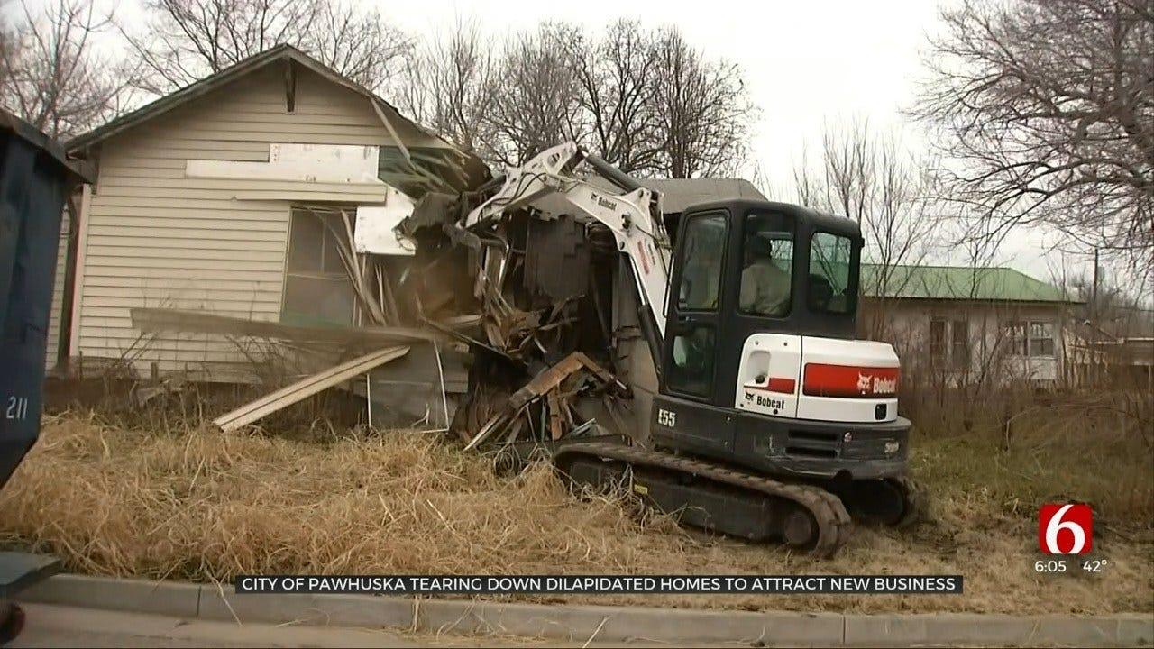 City Of Pawhuska Working To Tear Down Dilapidated Houses