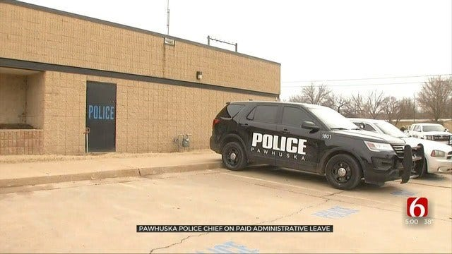 Pawhuska Police Department Under Investigation, Chief Suspended With Pay