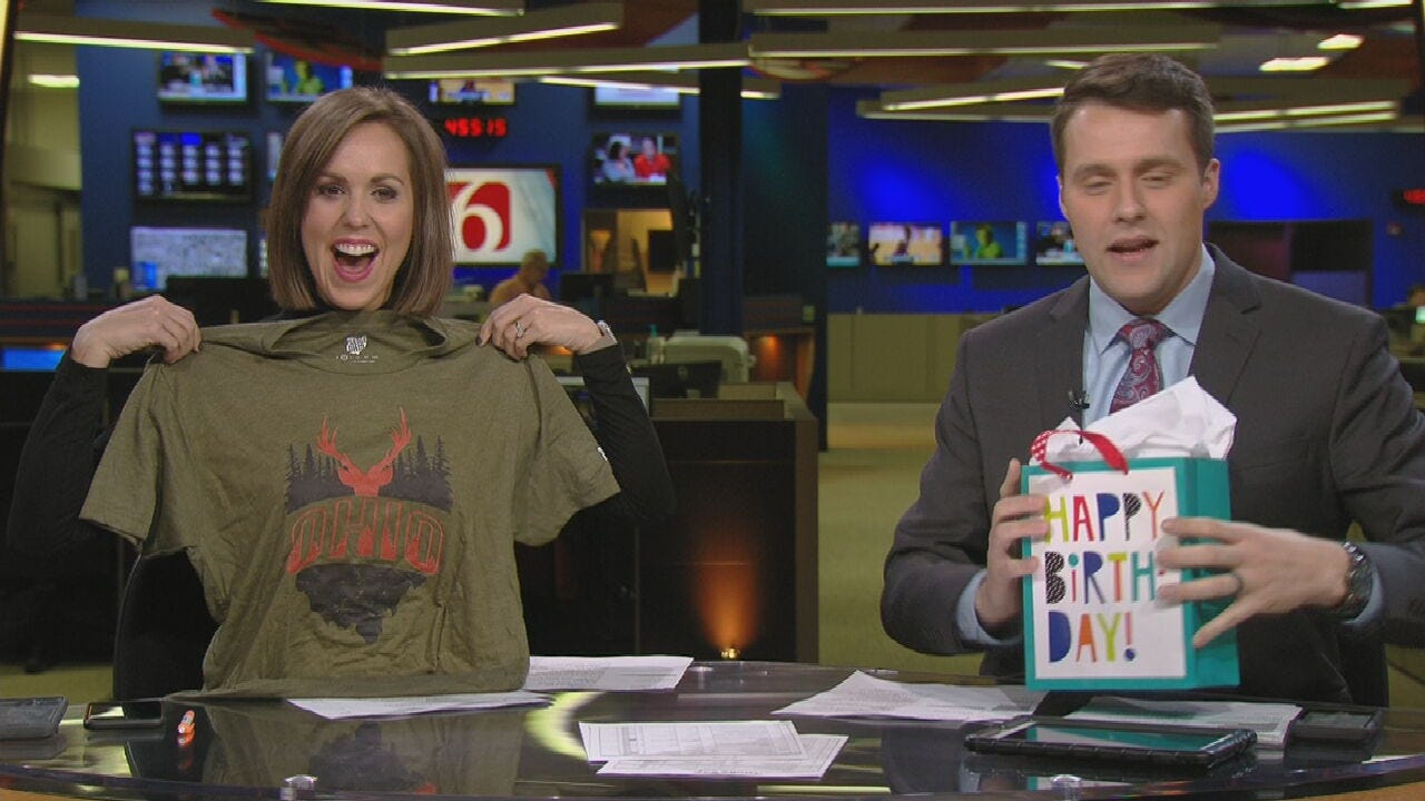 WATCH: News On 6's Tess Maune Gets A Birthday Surprise