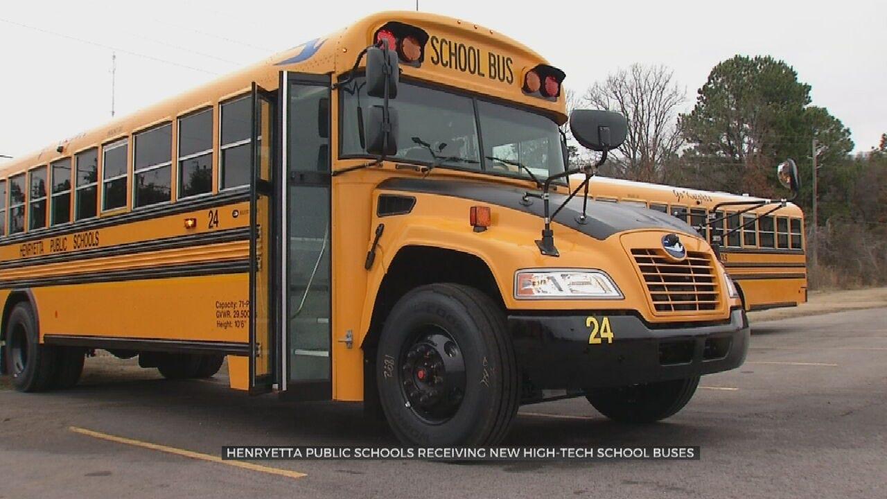 Henryetta Public Schools Get New, High-Tech Buses