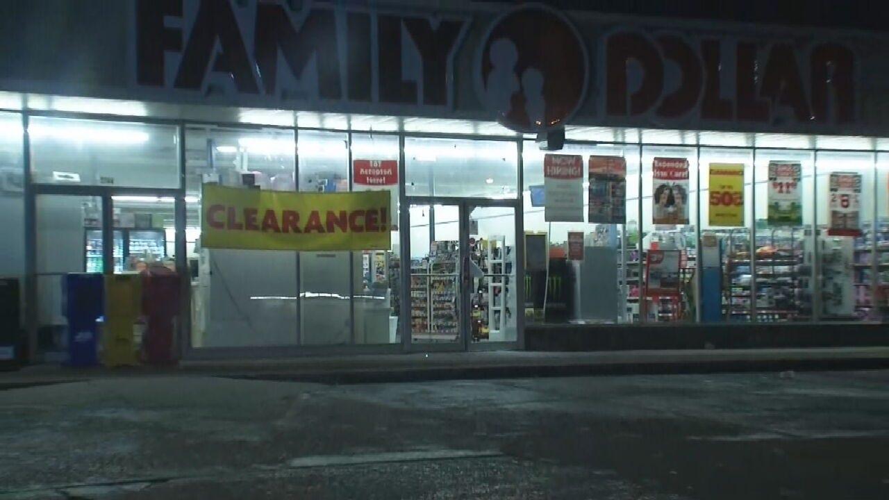 Tulsa Police Investigate Family Dollar Burglary