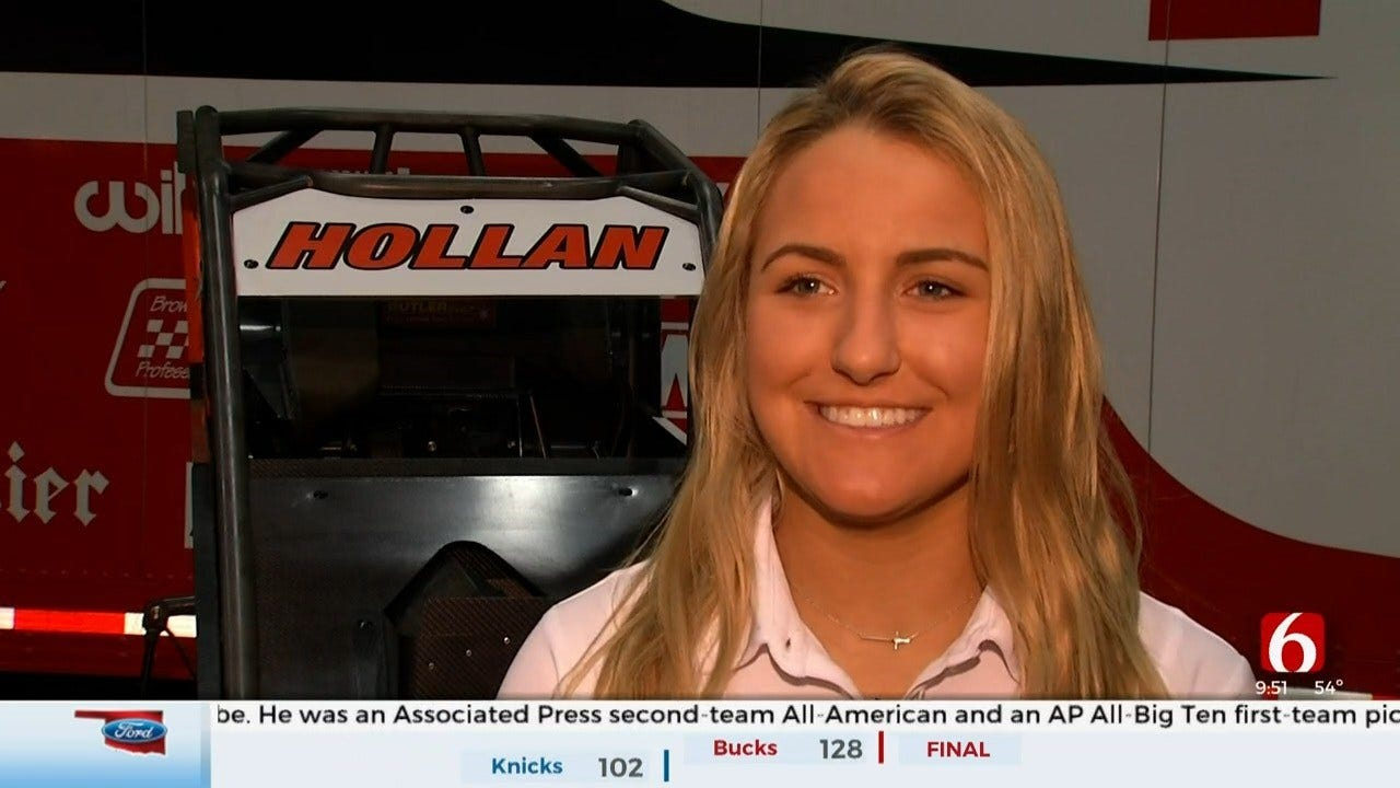 Holly Hollan Hoping For Victorious Chili Bowl Experience