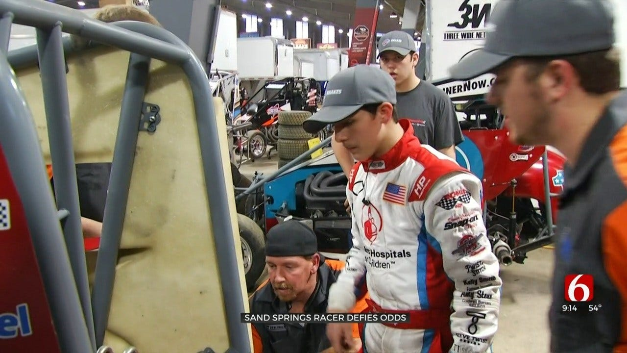 Chili Bowl Nationals Competitor Hoping To Inspire Others