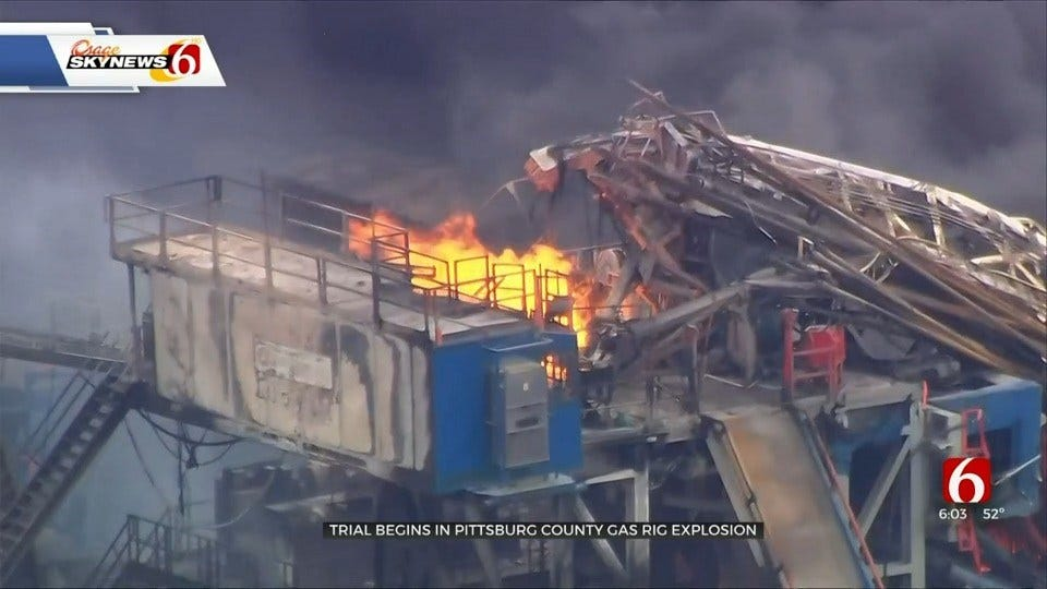 First Day Of Testimony For Quinton Well Fire, Explosion Lawsuit