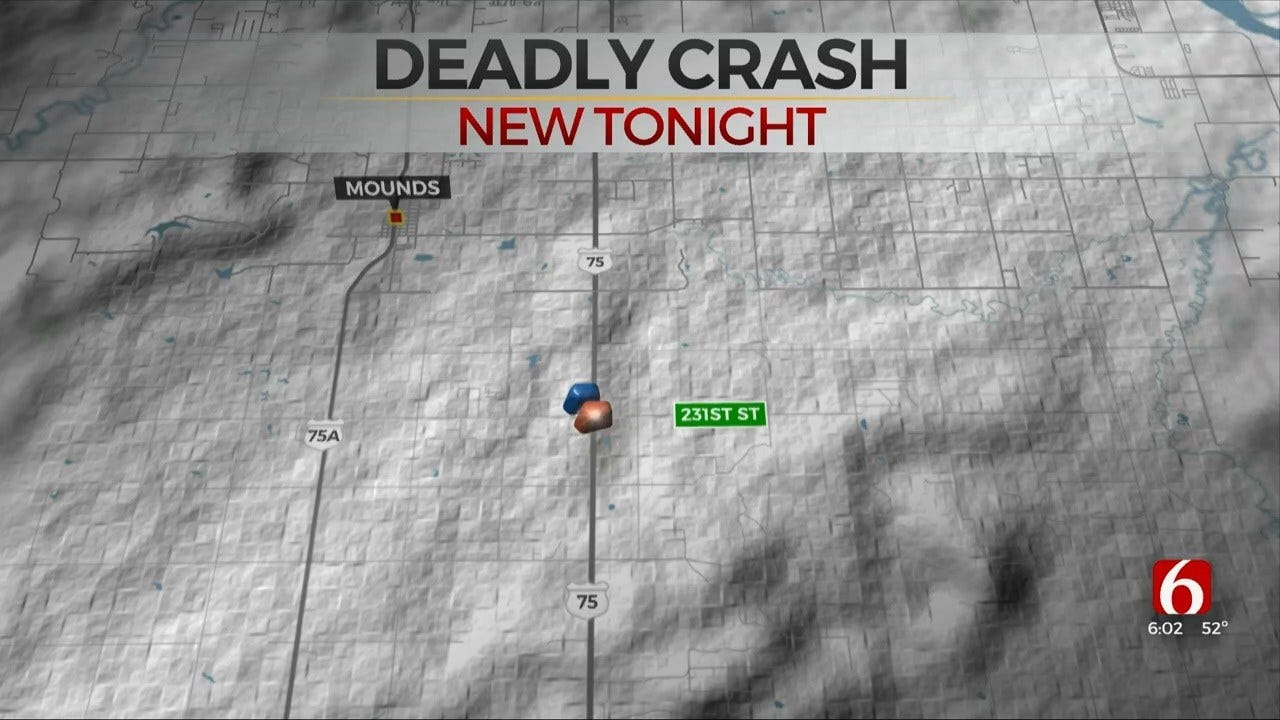 Mounds Woman Killed In Collision On Highway 75