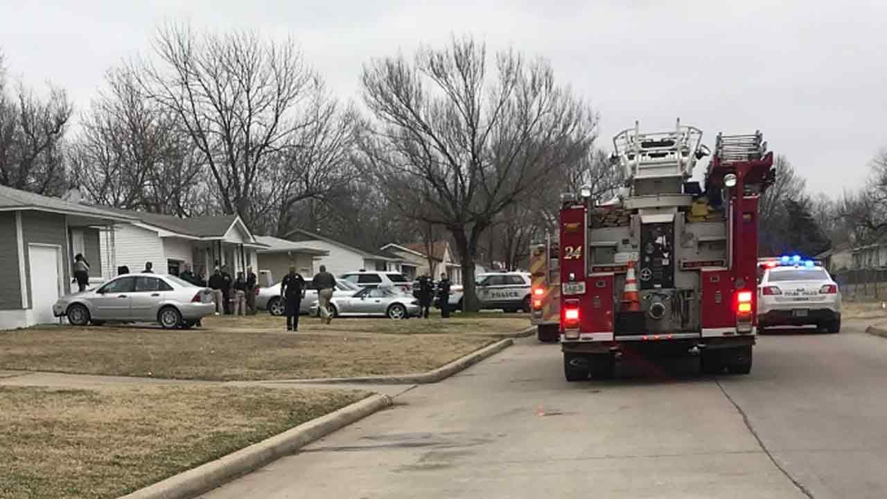 Tulsa Police: Woman Shoots, Kills Son Outside Her Home