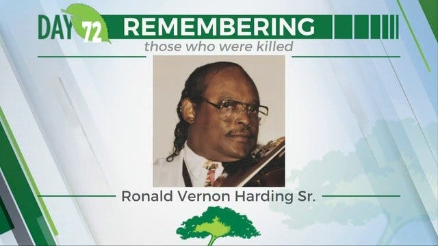 168 Days Campaign: Ronald Vernon Harding, Senior