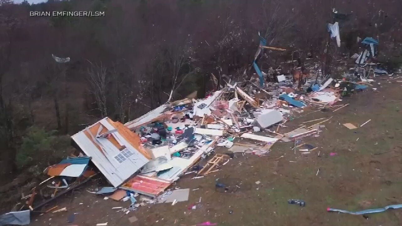 At Least 12 Killed In Severe Storms Across The Country