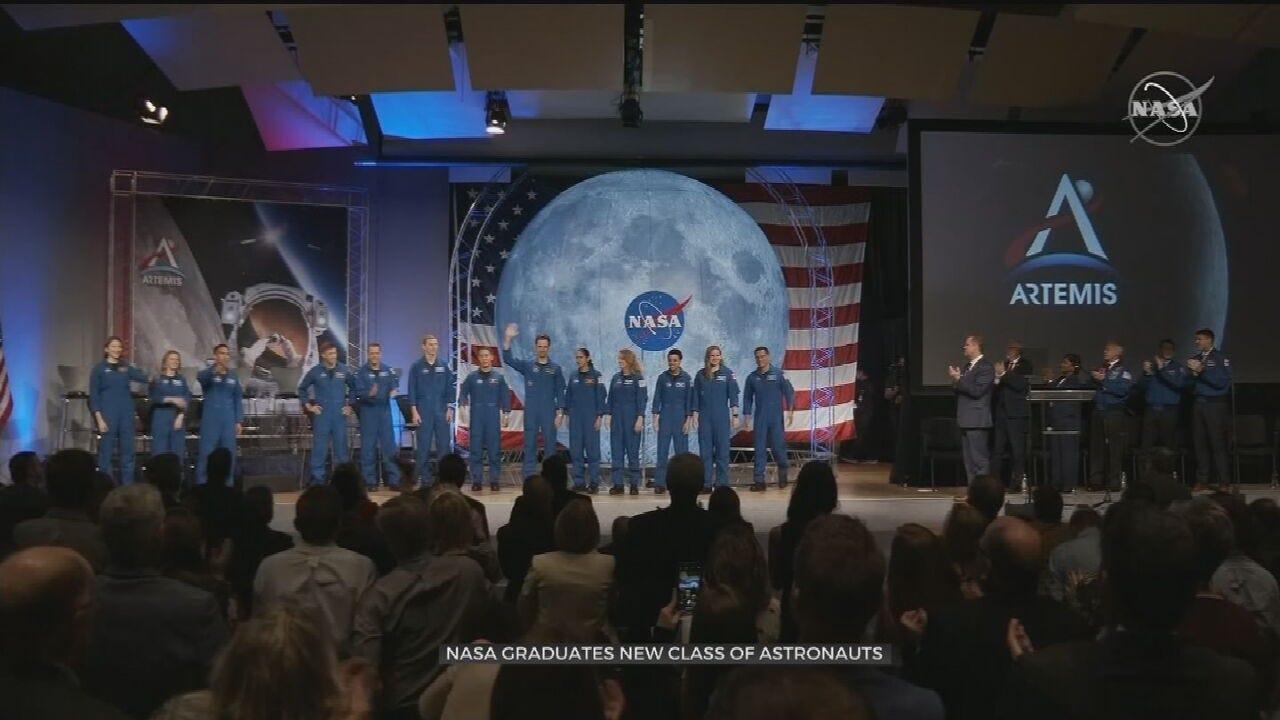 WATCH: Astronauts Graduate From NASA