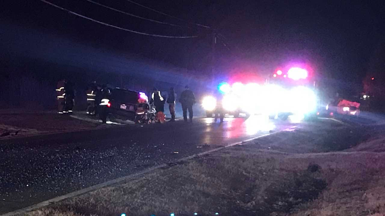 Tulsa Officer In Hospital After Car Hit While Searching For Lost Cow
