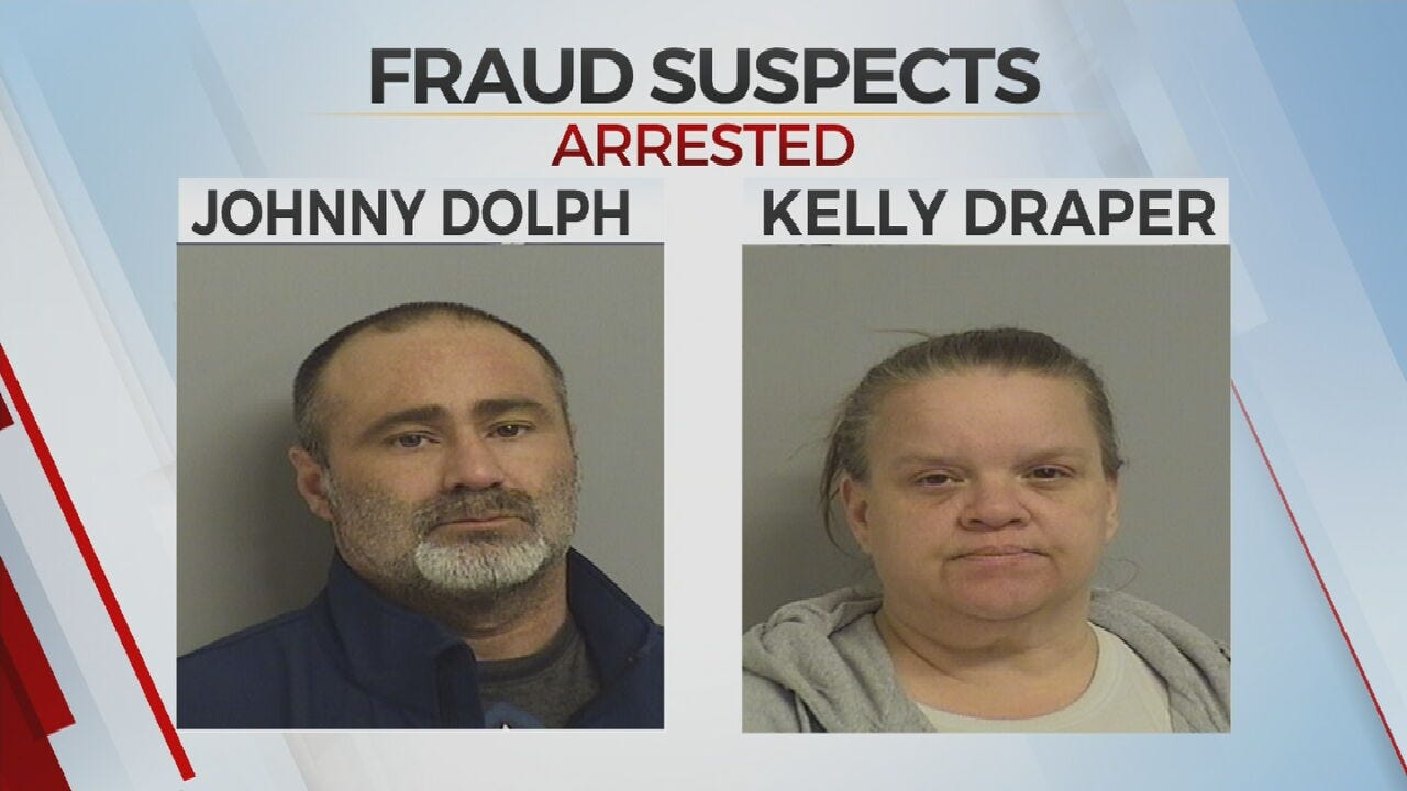 Tulsa Police Say Two People Arrested For Identity Theft