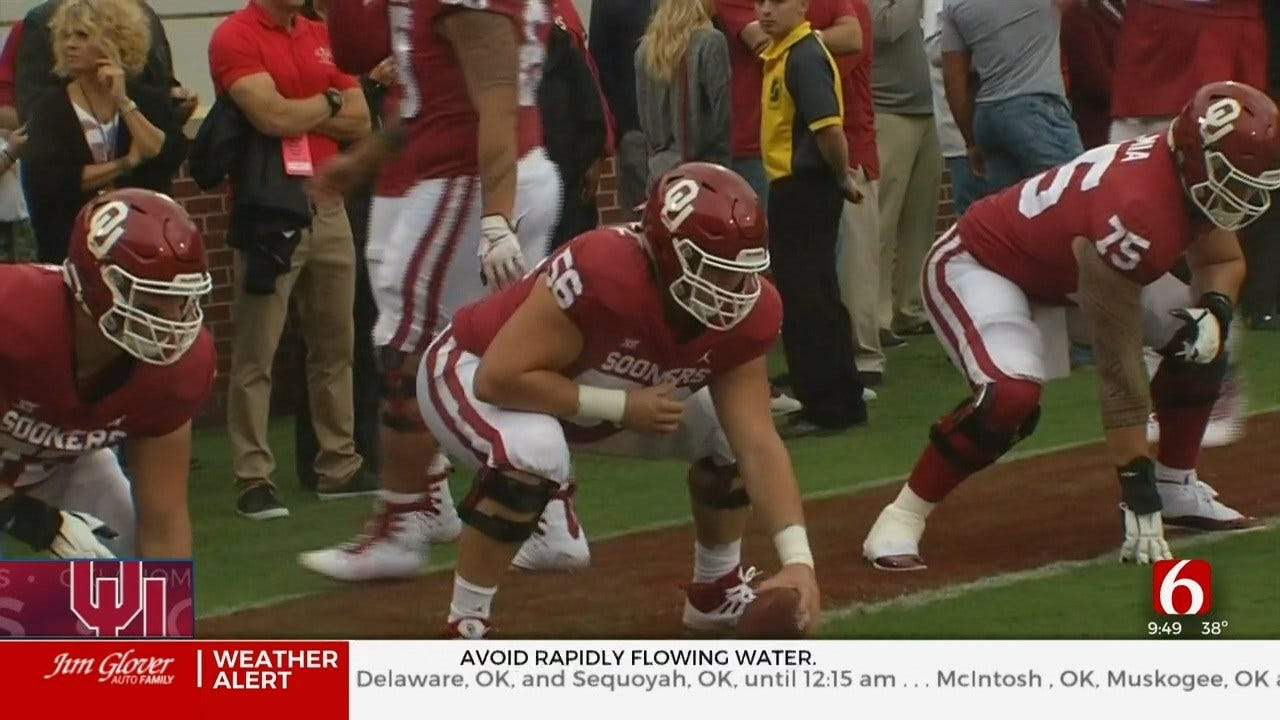 OU Lineman Creed Humphrey Stays For Another Season