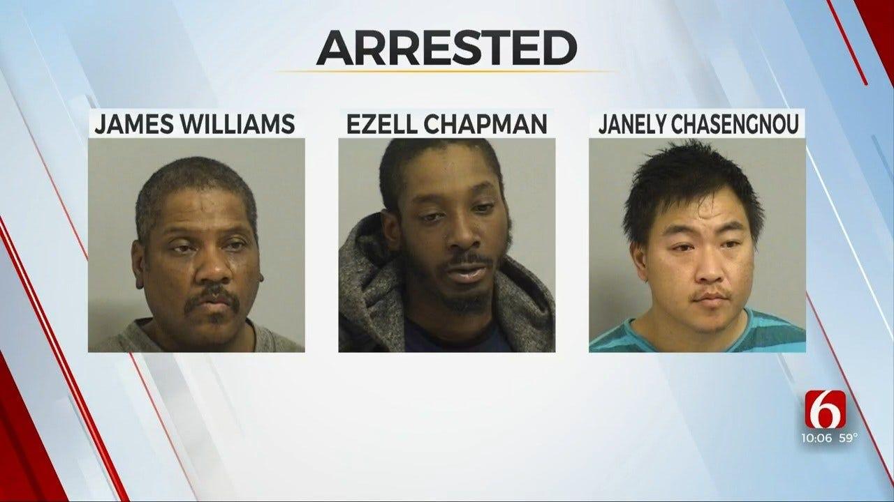 Tulsa Police: 3 Arrested After Stealing Beer For Resale