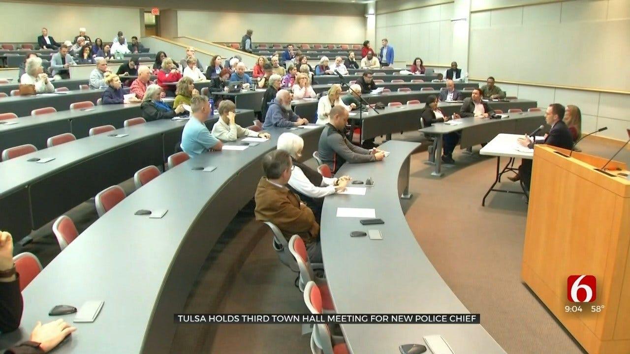 Tulsa Mayor Prepares To Interview 7 Police Chief Candidates