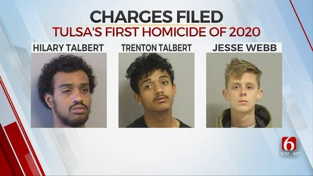 2 Teens, 1 Adult Charged With 1st Tulsa Murder Of 2020
