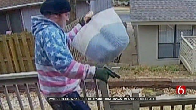 Men Hold Tulsa Woman At Gunpoint Before Crashing Into Innocent Bystanders, Police Say