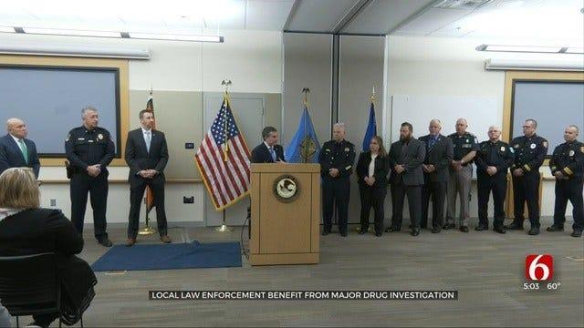 Drug Investigation Pays Off Big For Oklahoma Law Enforcement
