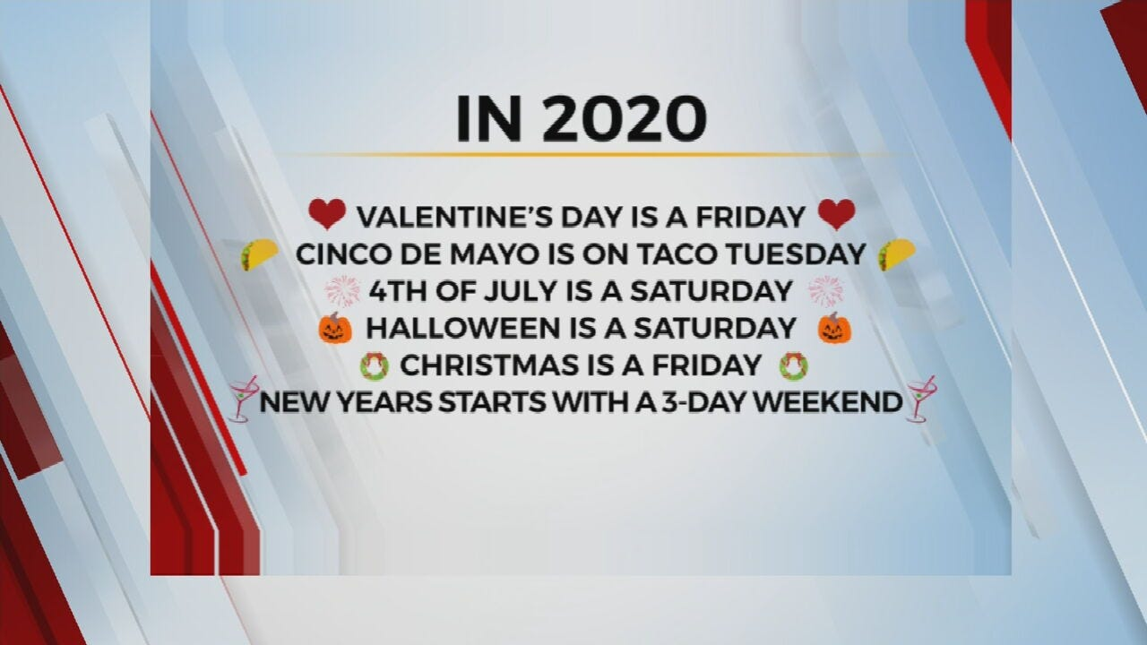 WATCH: Leap Year Helps Line Up Holidays Perfectly