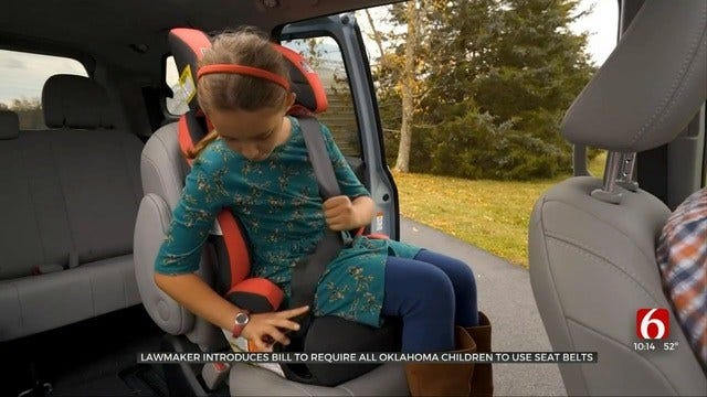 Advocates Push For Mandatory Seat Belts For All Oklahoma Kids