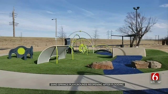 Case Community Park In Sand Springs Reopens After Flooding
