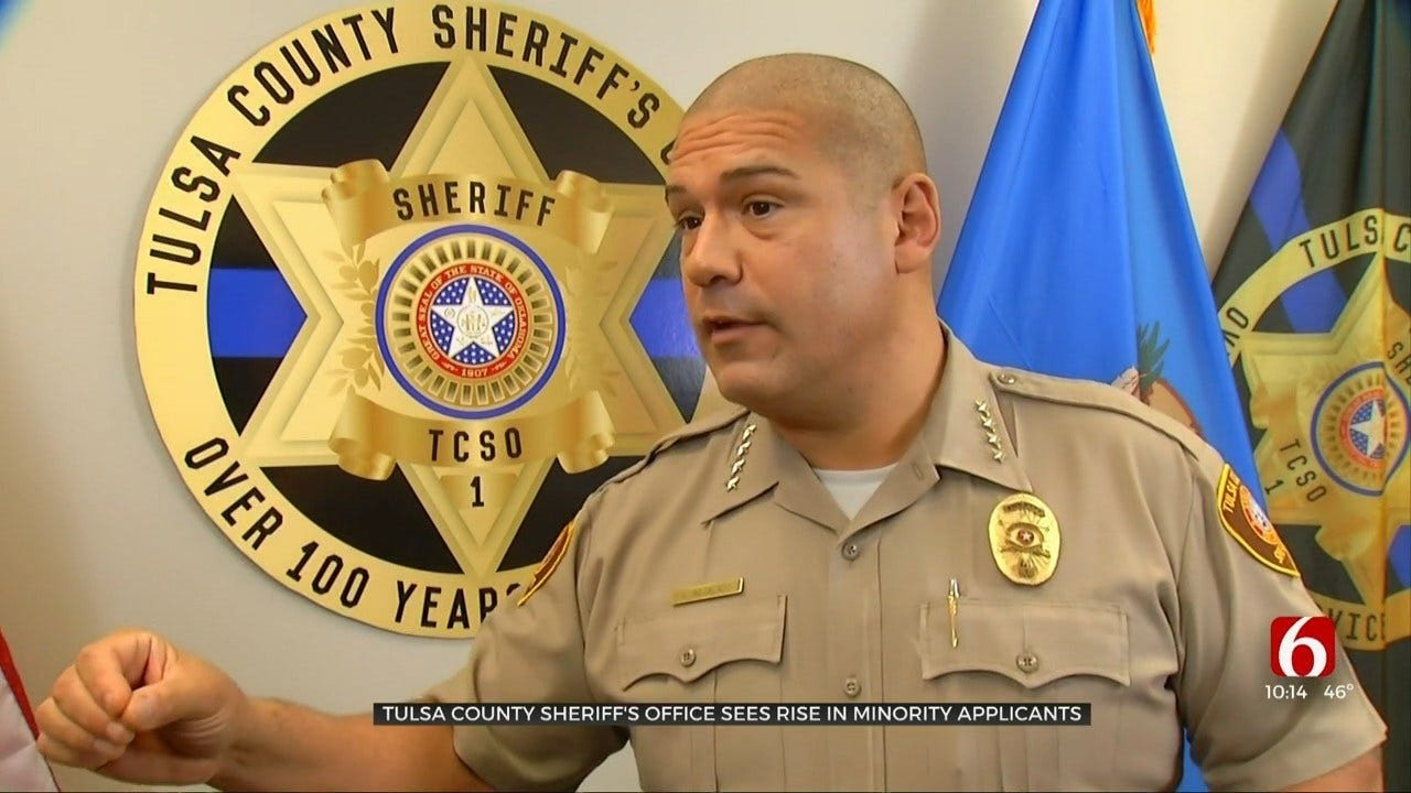 Statistics Show Increased Diversity Within Tulsa Co. Sheriff's Office