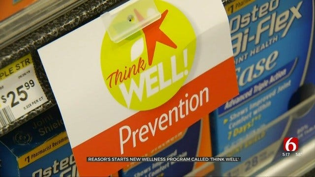 Keep Your Resolutions With Reasor's 'Think Well' Program