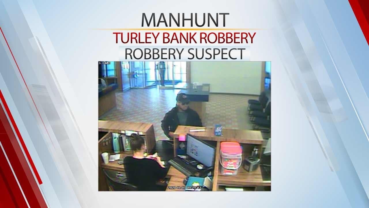 Manhunt Underway After Man Claiming To Have Explosives Robs Turley Bank
