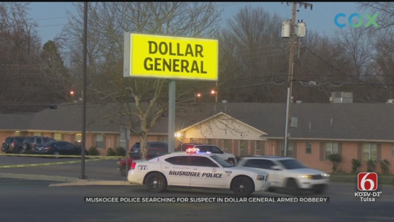 Muskogee Police Investigate Armed Robbery Of 74-Year-Old Man At Dollar General