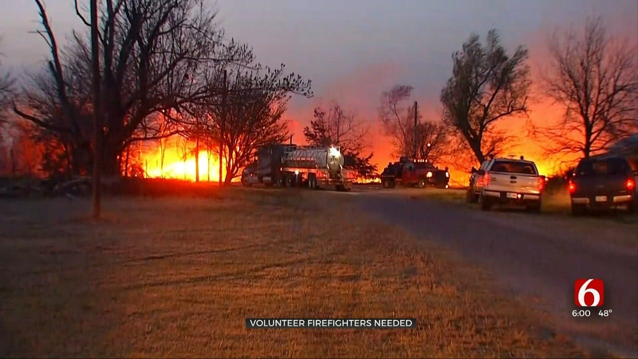 Oklahoma Rural Fire Departments Struggling