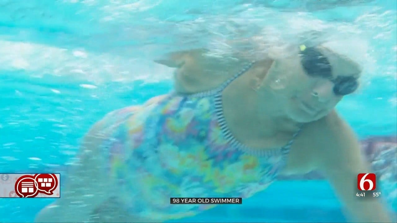 Something To Talk About: 98-Year-Old Swimmer