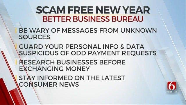 Go Scam Free In 2020, Tulsa Better Business Bureau Urges