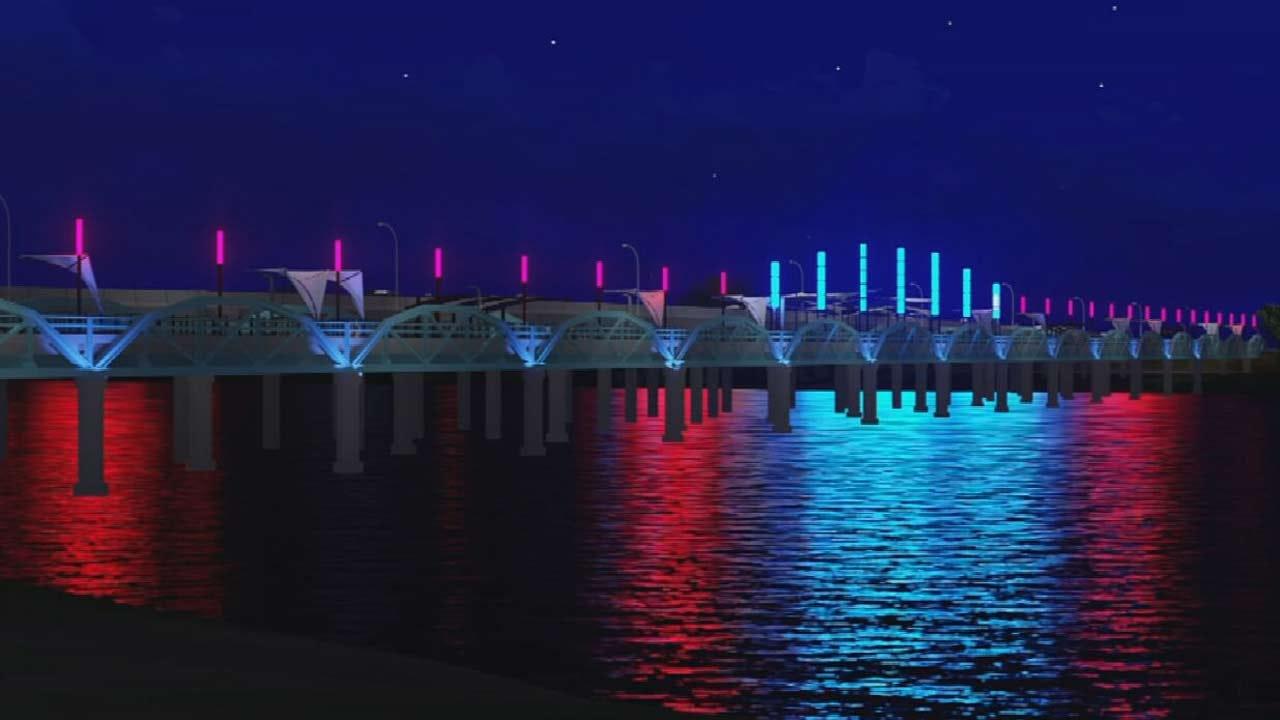 Bixby's Harmony Pedestrian Bridge To Get Facelift