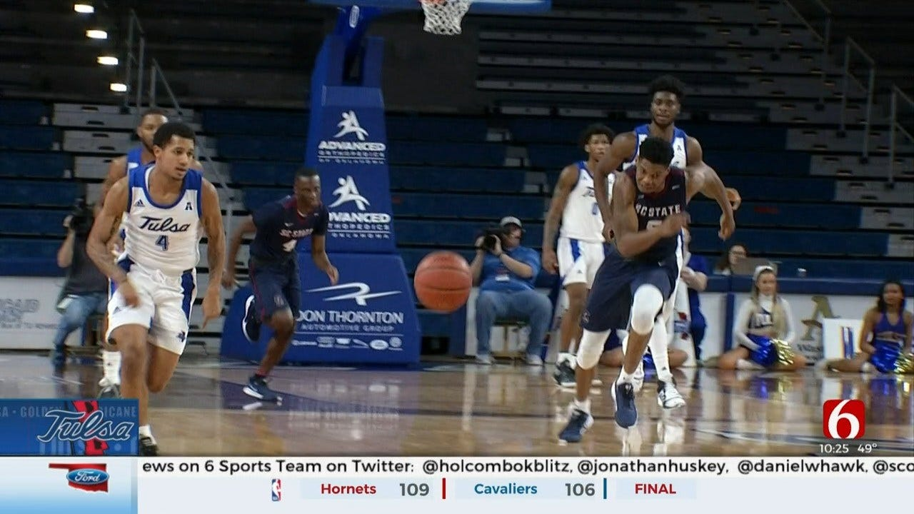 Tulsa Begins American Conference Play At Home Against Temple