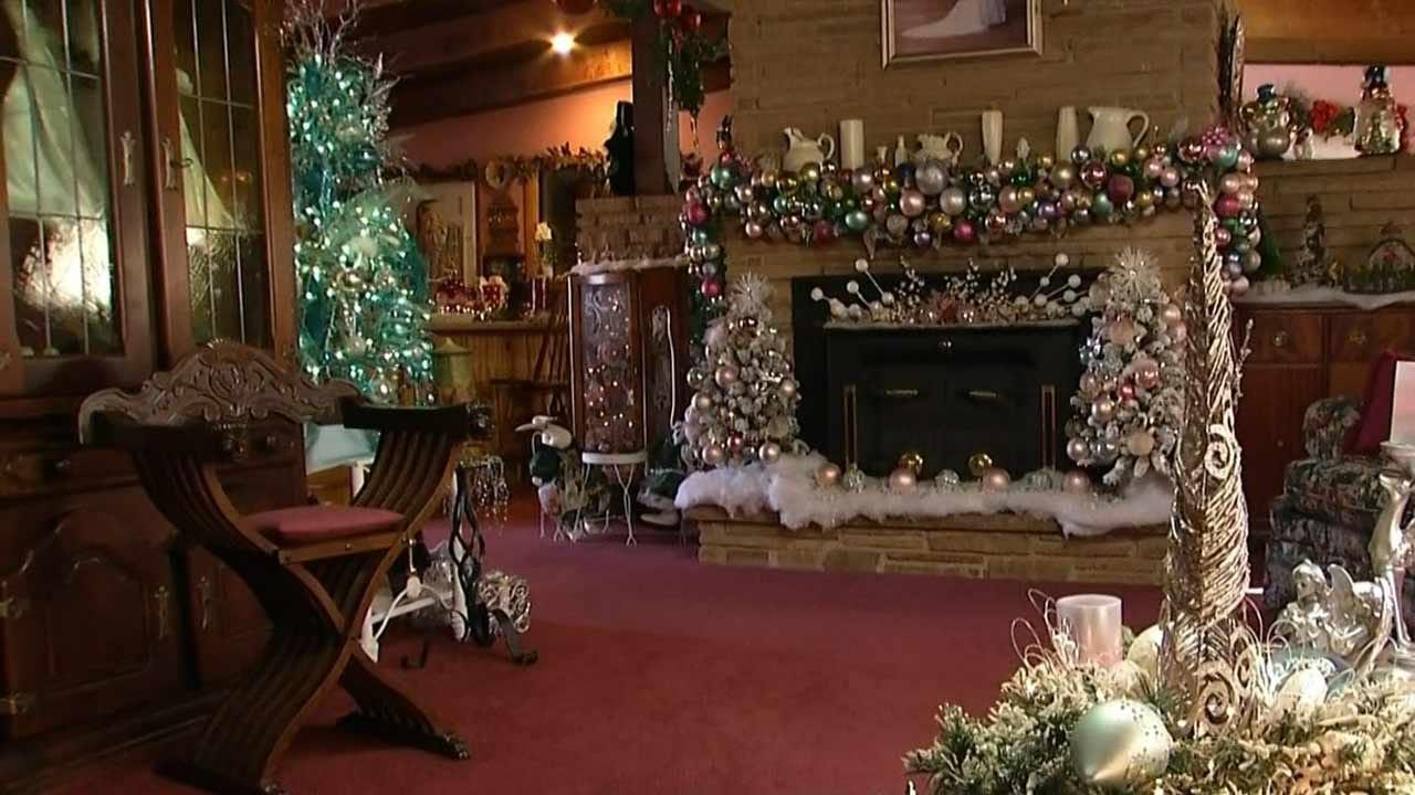 Glenpool Woman Celebrates Christmas All Year