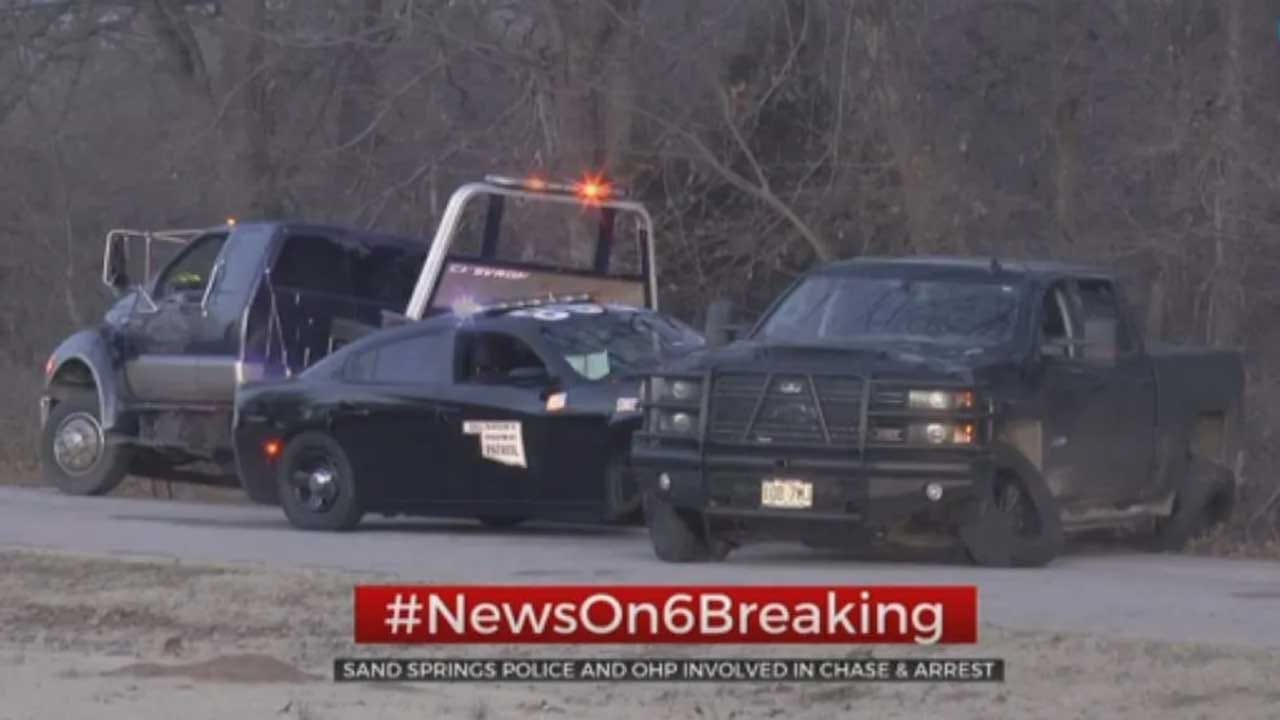 Missouri Carjacking Suspect Arrested In Sand Springs Following Pursuit